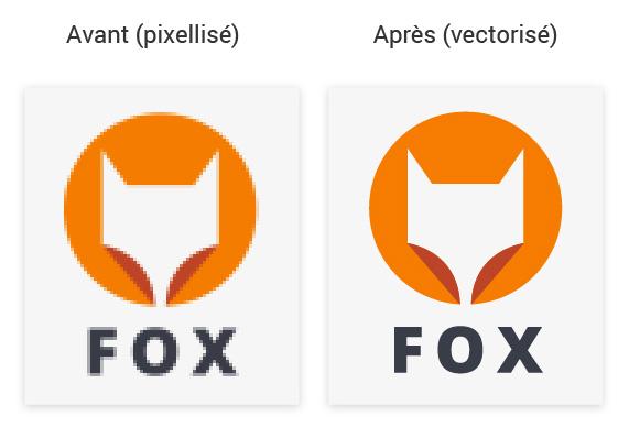Vectorisation de logo au prix de 5€